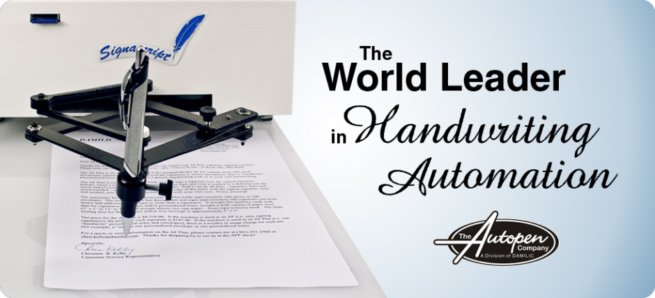 auto signature machine